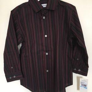 Calvin Klein boy's formal shirt NWT